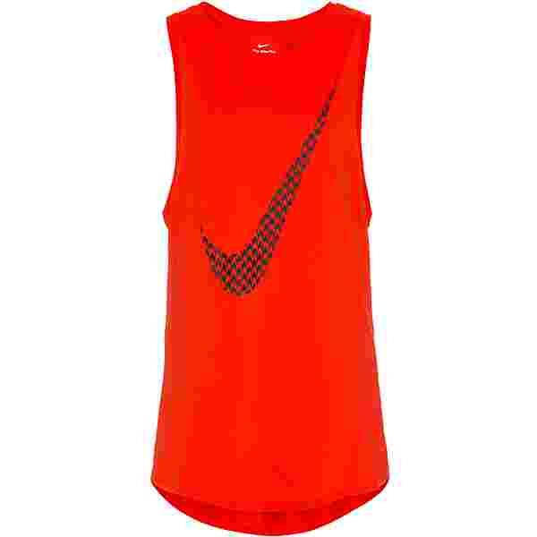 Nike Funktionstank Damen chile red-black