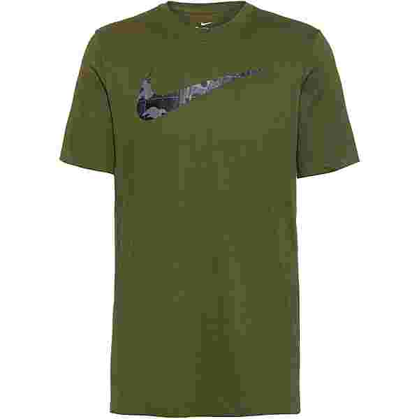 Nike Dri-Fit Camo GFX Funktionsshirt Herren rough green
