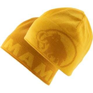 Mammut Logo Beanie golden-freesia