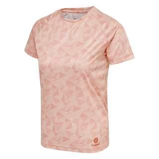 hummel hmlACTIVE KIDS POLY JERSEY SS T-Shirt Kinder MELLOW ROSE