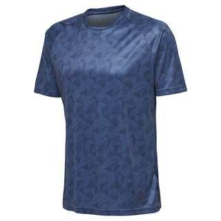 hummel hmlACTIVE KIDS POLY JERSEY SS T-Shirt Kinder ENSIGN BLUE