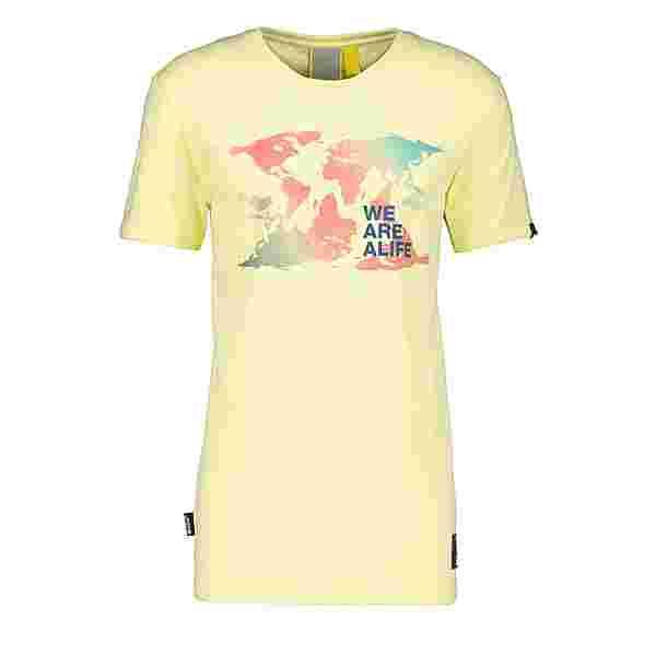 ALIFE AND KICKIN Logo IconAK T-Shirt Herren lime