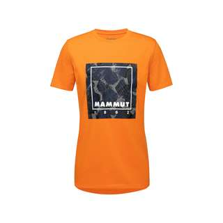 Mammut Mammut Graphic T-Shirt Herren dark cheddar
