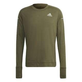 adidas Cooler Longsleeve Sweatshirt Herren Grün