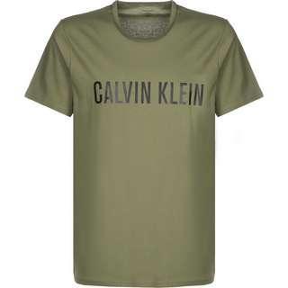 Calvin Klein Crew Neck T-Shirt Herren oliv/meliert