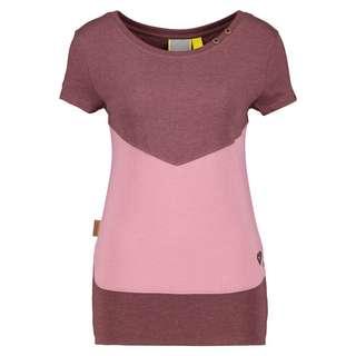 ALIFE AND KICKIN CoraAK T-Shirt Damen grape