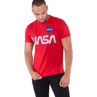 Alpha Industries NASA Reflective T-Shirt Herren rot