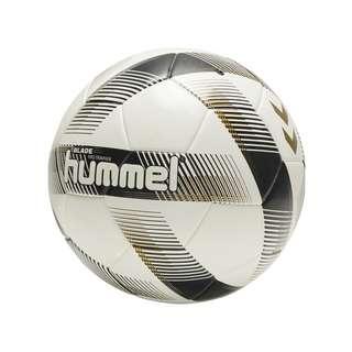 hummel Blade Pro Trainingsball Fußball Weissschwarzgold