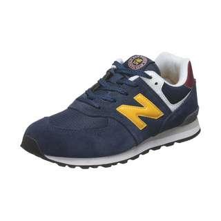 NEW BALANCE 574 Sneaker Kinder dunkelblau / gelb