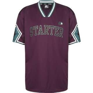 STARTER Star Sleeve T-Shirt Herren lila