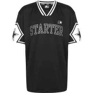 STARTER Star Sleeve T-Shirt Herren schwarz