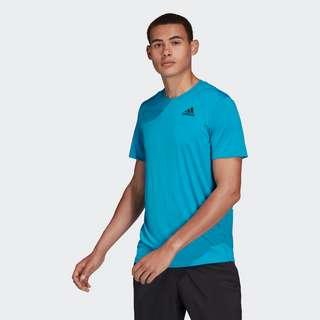 adidas Club Tennis 3-Streifen T-Shirt T-Shirt Herren Sonic Aqua / Black