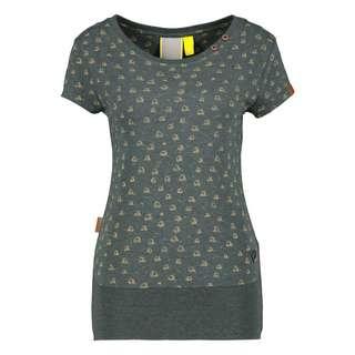 ALIFE AND KICKIN CocoAK T-Shirt Damen dark forest