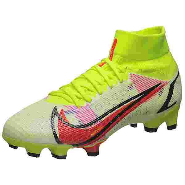 Nike Mercurial Superfly 8 Pro DF Fußballschuhe Herren neongelb / rot