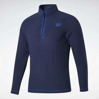 Reebok Outerwear Quarter-Zip Sweatshirt Funktionssweatshirt Herren Blau