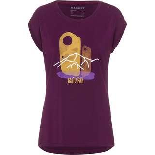 Mammut Mountain T-Shirt Damen grape