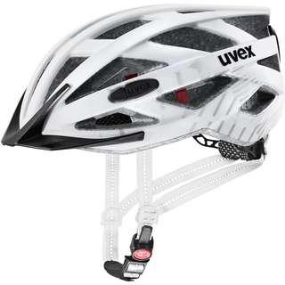 Uvex city i-vo Fahrradhelm white black mat