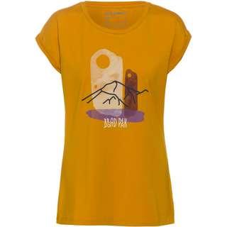 Mammut Mountain T-Shirt Damen golden