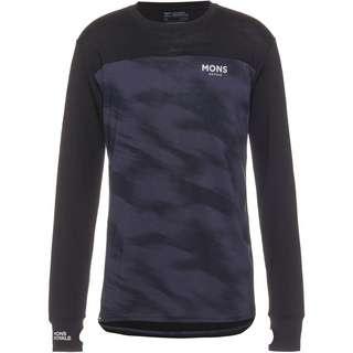 Mons Royale Merino Yotei LS Layerlangarmshirt Herren black-motion 9