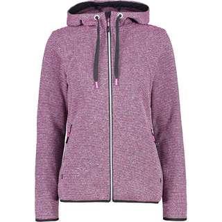 CMP Kapuzenjacke Damen purple fluo-antracite