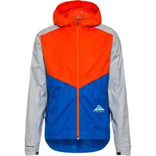 Nike Laufjacke Herren orange-signal blue-grey fog-green glow