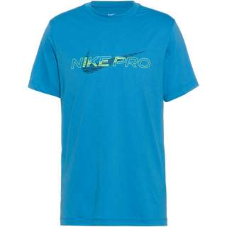 Nike Dri-Fit Pro Funktionsshirt Herren dutch blue