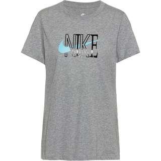 Nike Shine T-Shirt Damen dk grey heather