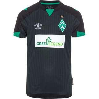 UMBRO Werder Bremen 21-22 3rd Trikot Kinder schwarz