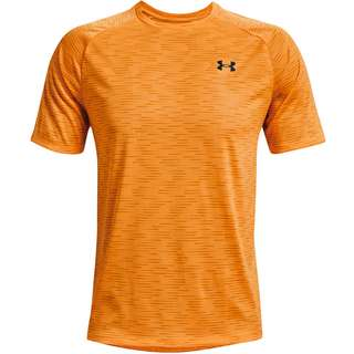 Under Armour Tech Dash Funktionsshirt Herren omega orange -black