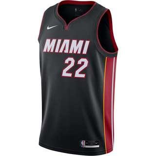 Nike Jimmy Butler Miami Heat Trikot Herren black-tough red-sundial