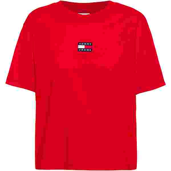Tommy Hilfiger Center T-Shirt Damen deep crimson