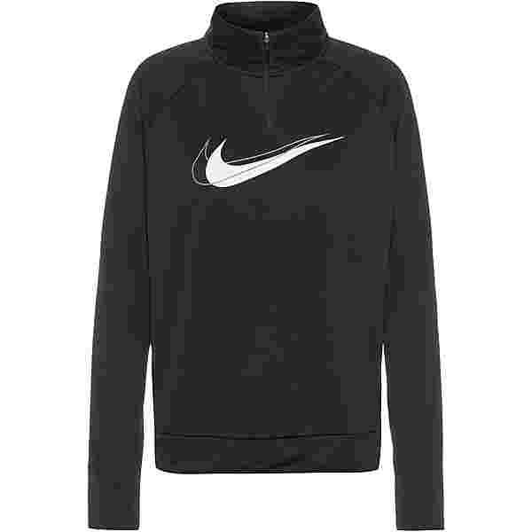 Nike Dri-FIT Swoosh Run Funktionsshirt Damen black-white