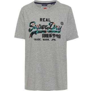 Superdry VL Infill T-Shirt Damen grey marl