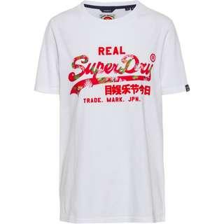 Superdry VL Infill T-Shirt Damen optic