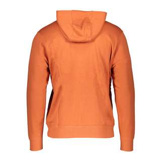 Nike Club Kapuzenjacke Sweatjacke Herren orangeweiss