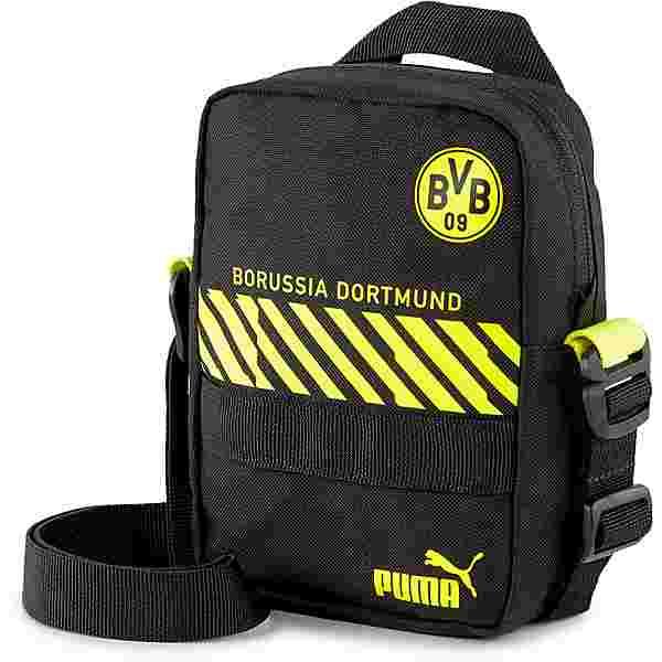 PUMA Borussia Dortmund Umhängetasche puma black-safety yellow