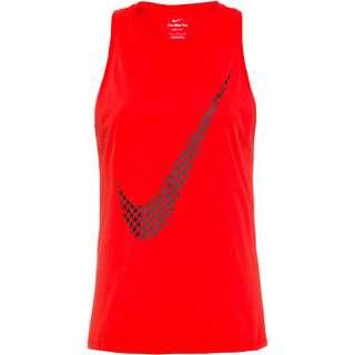 Nike Dri-Fit Funktionstank Damen chile red-black