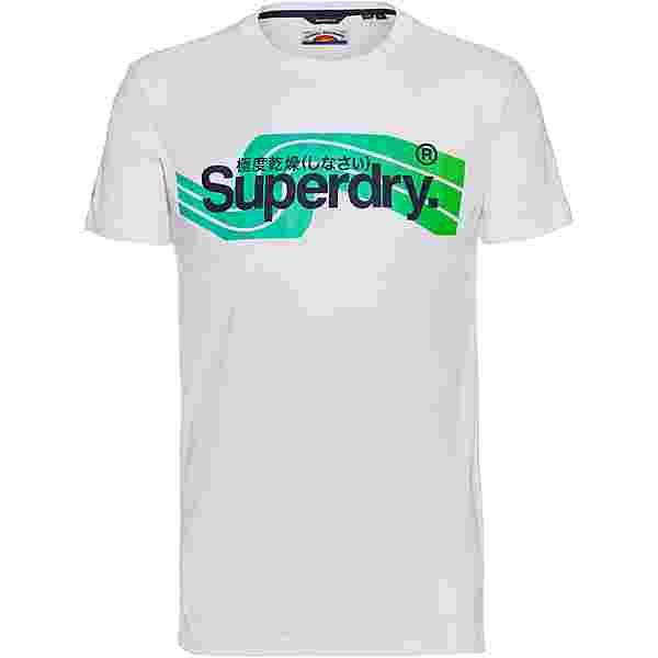 Superdry CL Cali T-Shirt Herren brilliant white