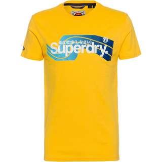 Superdry CL Cali T-Shirt Herren springs yellow