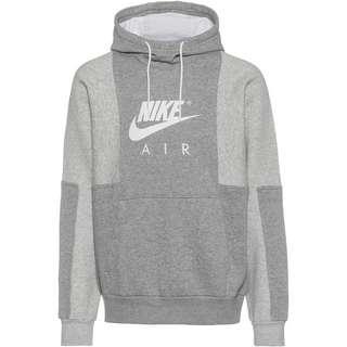 Nike NSW Air Hoodie Herren dk grey heather-grey heather-white
