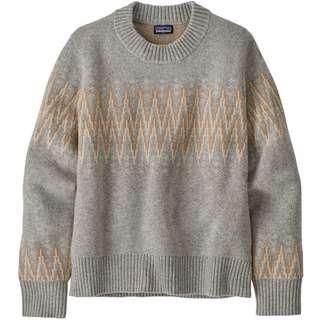 Patagonia Recycled Wool Sweatshirt Damen sea song-salt grey