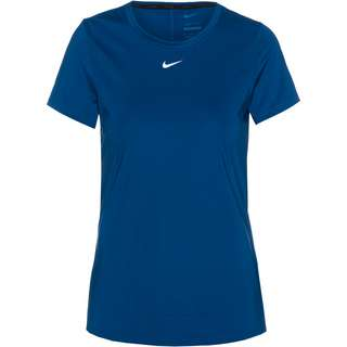 Nike ONE Dri-Fit Funktionsshirt Damen court blue-white