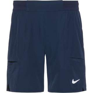 Nike Court Flex Advantage Tennisshorts Herren obsidian-white