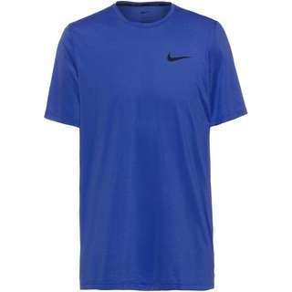 Nike Dri-Fit Hyper Dry Funktionsshirt Herren deep royal blue-sapphire-htr-black