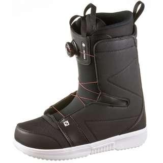 Salomon FACTION BOA Snowboard Boots Herren black-black-white