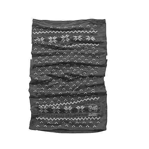 BUFF Merino Wool Multifunktionstuch grau