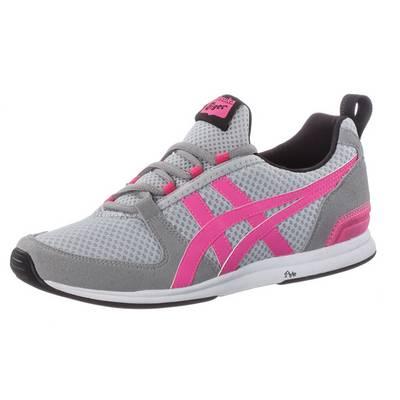 ASICS Ult-Racer Sneaker Damen hellgrau/pink