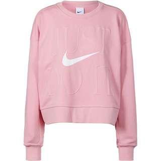 Nike Dri-FIT Get Fit Sweatshirt Damen pink glaze-white