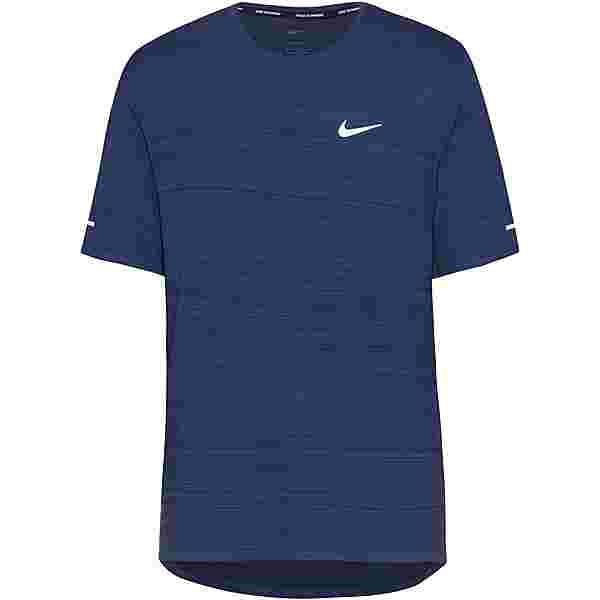 Nike Miler Funktionsshirt Herren thunder blue-reflective silv