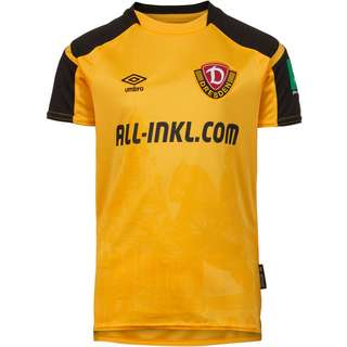 UMBRO Dynamo Dresden 21-22 Heim Trikot Kinder citrus yellow-black